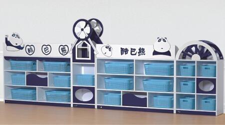 使用幼儿园区角组合玩具柜的好处有哪些