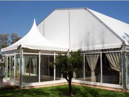 如何进行展销会篷房搭建