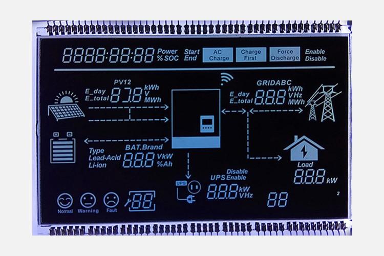 段码LCD液晶显示屏的特点是什么?