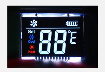 段码LCD液晶显示屏能够应用于哪些设备