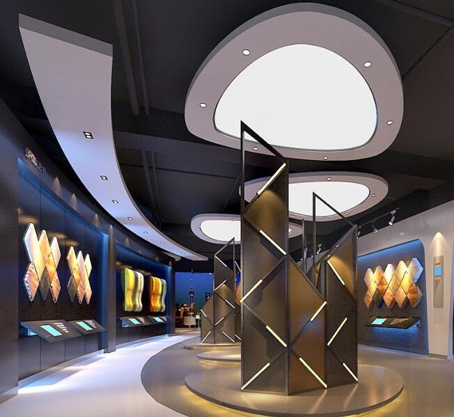 高科技企业展厅设计可以用哪些主题