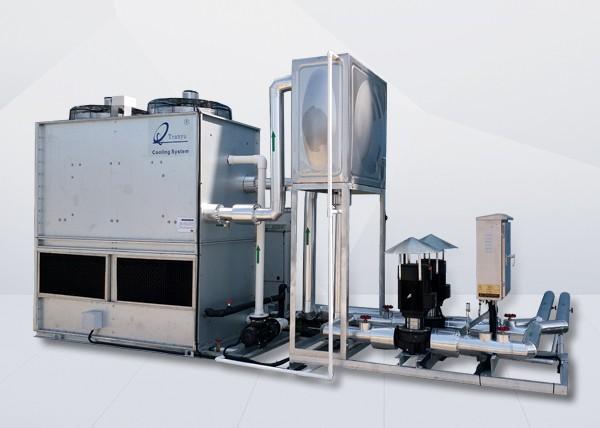密闭式冷却塔相比传统冷却塔升级了哪些功能