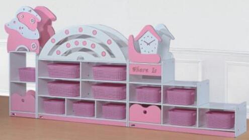 幼儿园区角组合玩具柜的特点有哪些