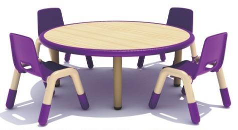 幼儿园桌椅有什么特色