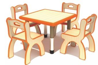 幼儿园实木原木家具为什么要选大品牌