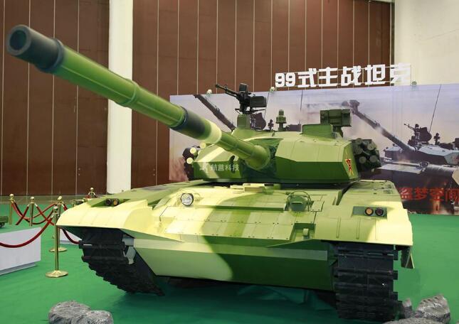 军事展览中的99A式坦克模型为什么广受欢迎?