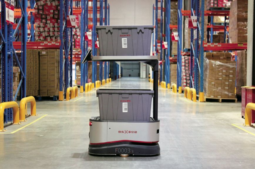 如何正确保养AGV无人搬运机