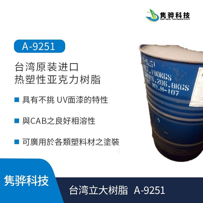 水性台湾立大丙烯酸树脂的单体有哪几种