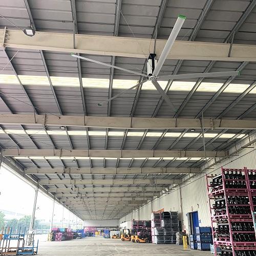 如何保护好大型工业吊扇的叶尖部位?