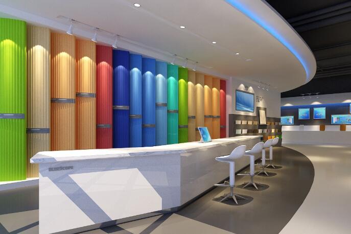 企业展厅设计更适宜结合哪些数字光电技术