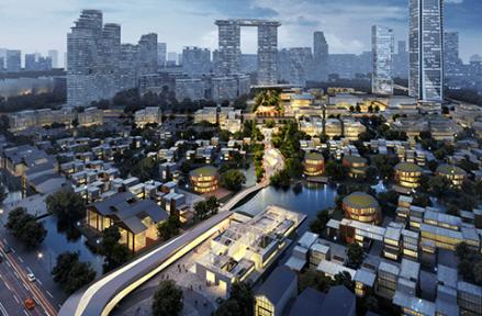 红树林现代金融产业城的特色有哪些