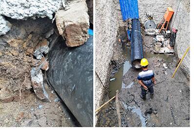 落实非开挖管道内衬修复的要点