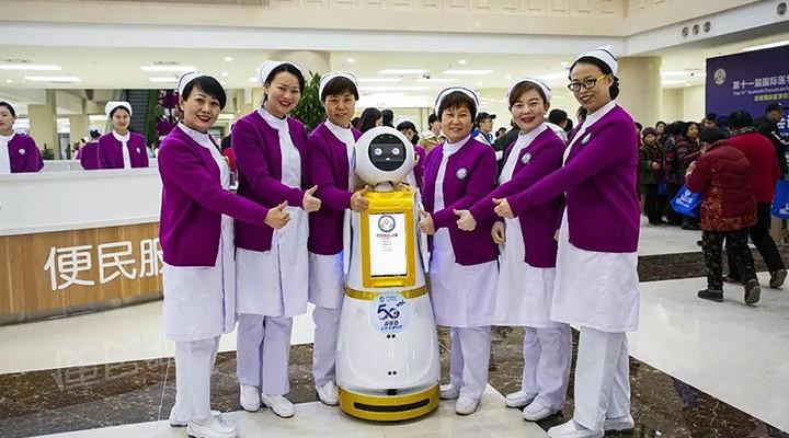 哪些行业能够使用服务机器人?