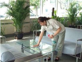 上海办公室日常保洁的流程