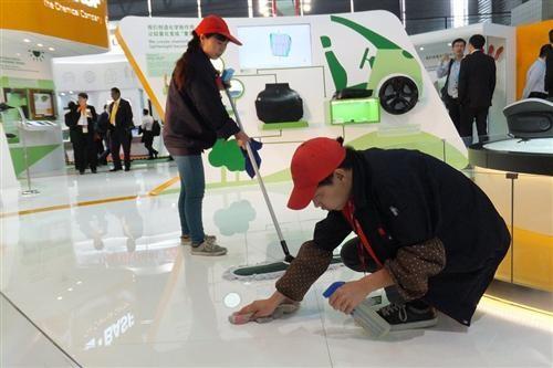 为什么上海展会保洁服务备受客户的欢迎?
