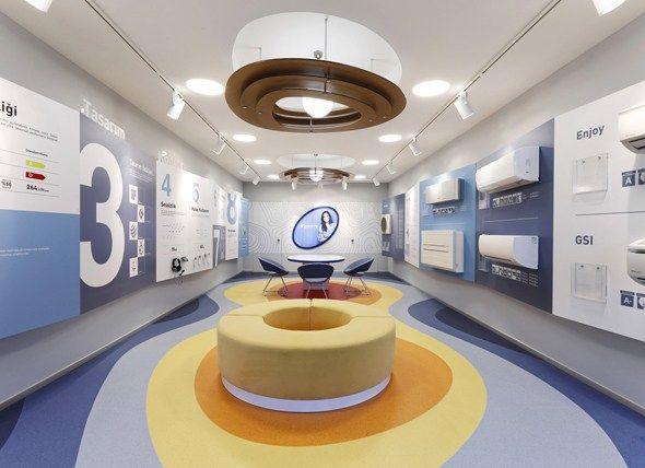 超大空间进行企业展厅设计的技巧