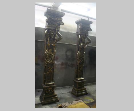 玻璃钢罗马柱的加工制作主要包括哪些步骤