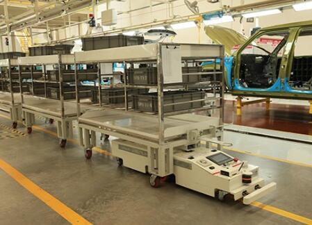 AGV无人搬运机的产品特点是什么